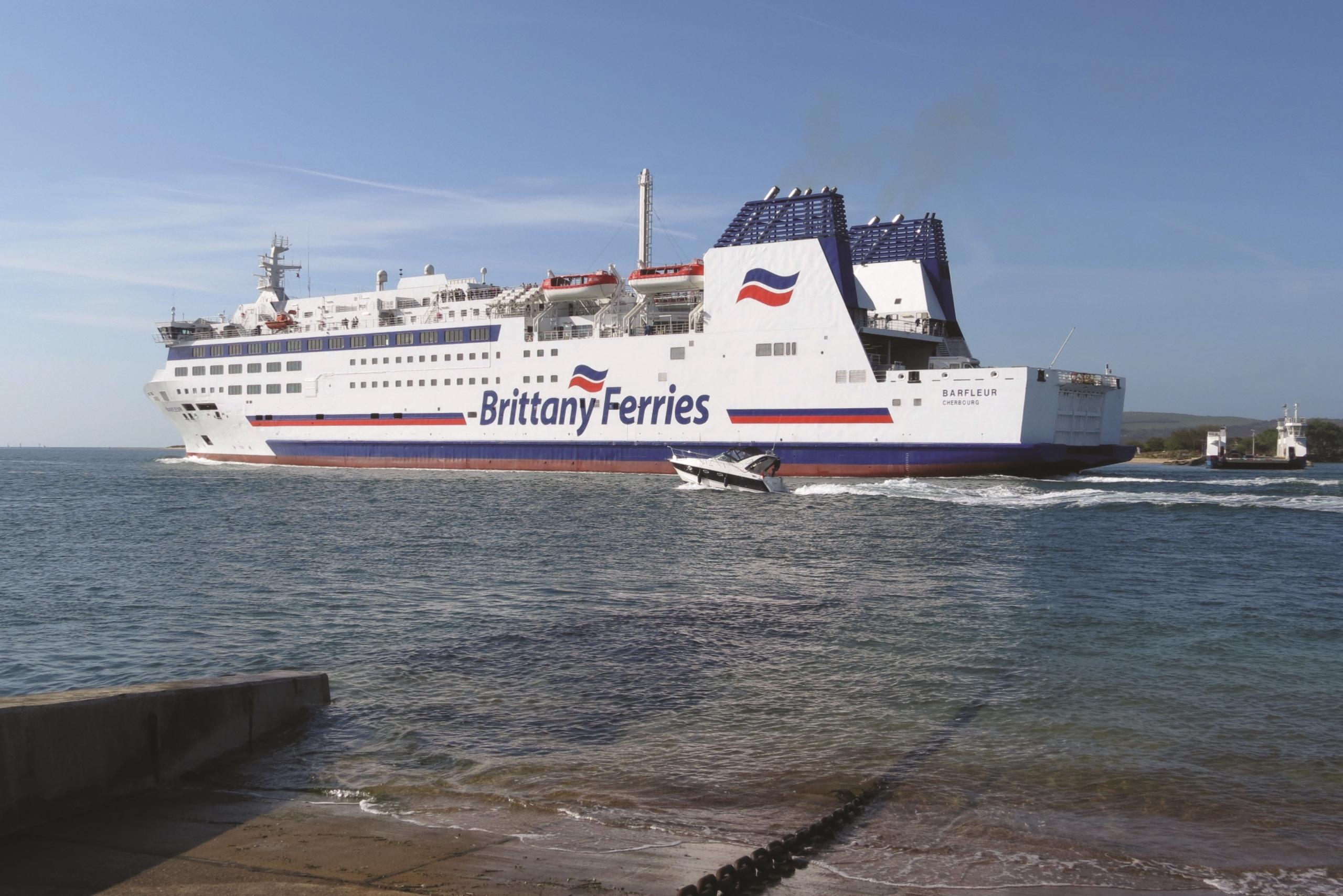 Barfleur cruise ferry ship information brittany ferries - Brittany Ferries Download Barfleur Departing Poole
