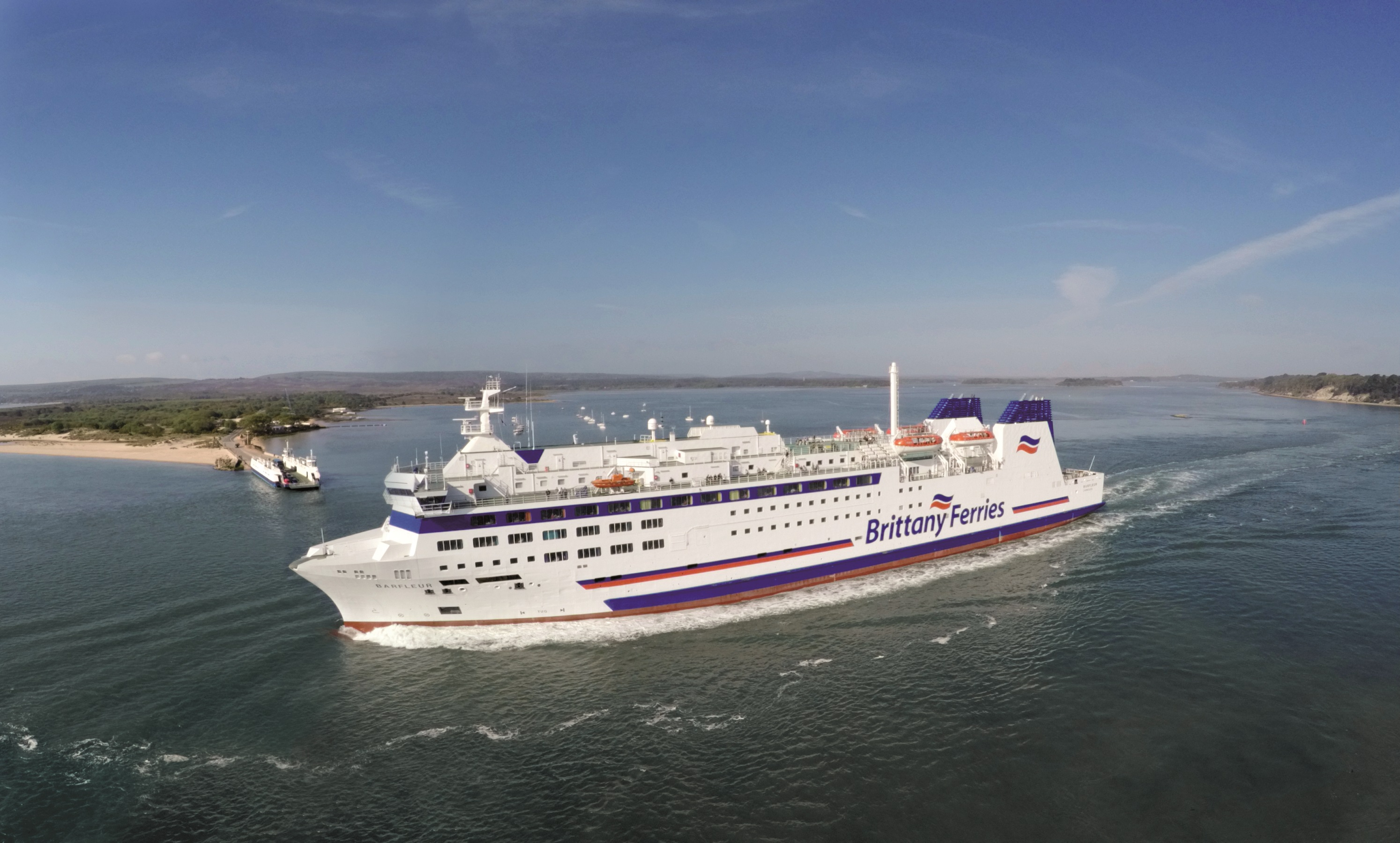 Barfleur cruise ferry ship information brittany ferries - Brittany Ferries Download Barfleur In Poole Harbour