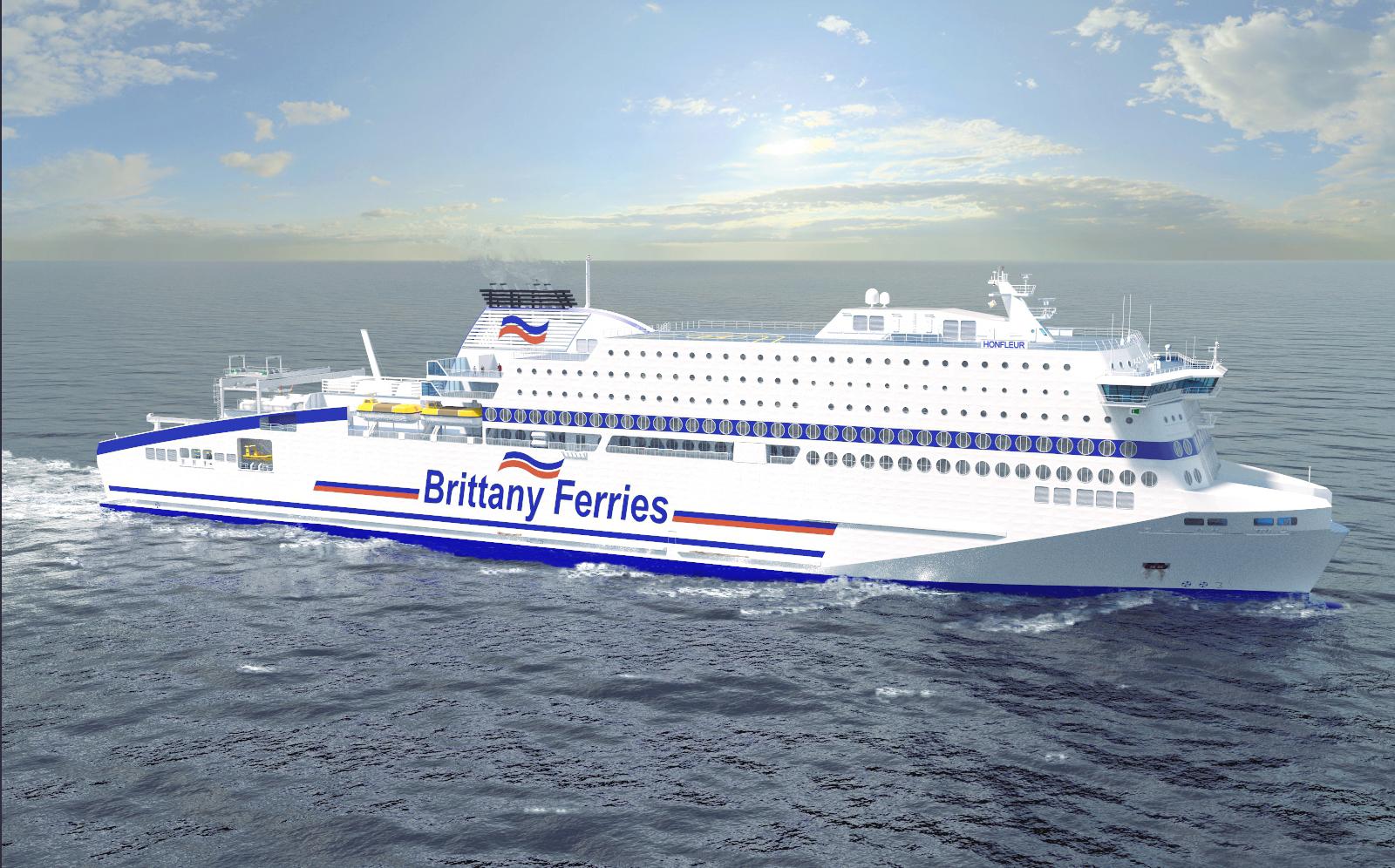 No Greener Fuel Storage In Ports Problem For Brittany Ferries Lng Engine System Diagram Honfleur Artists Impression