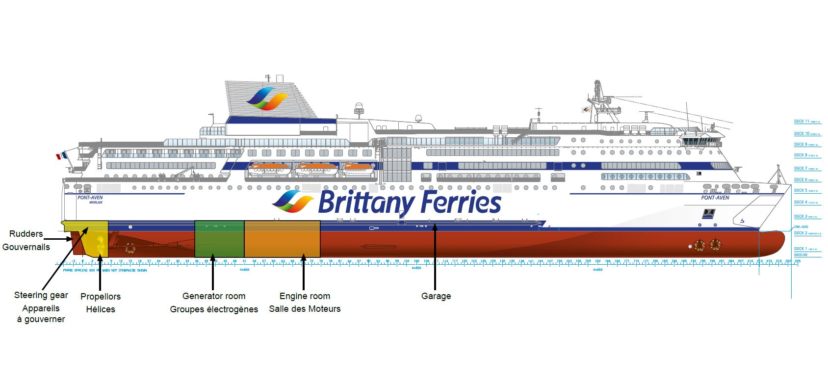 Pont Aven Will Sail To Brest For Steering Gear Repairs Brittany