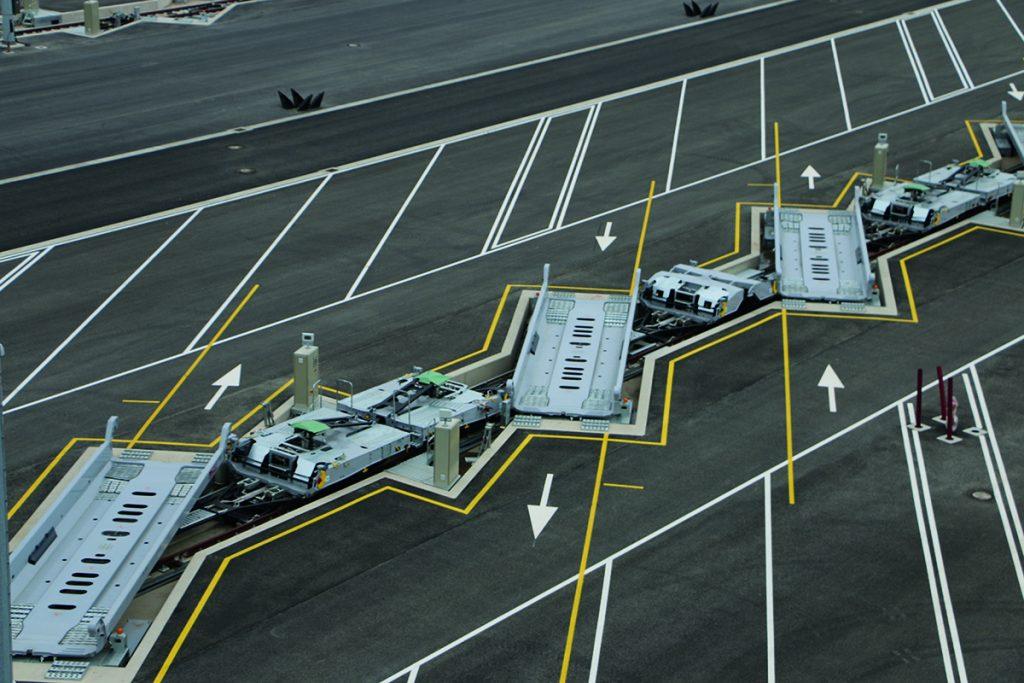 Multimodal terminal Cherbourg-Bayonne